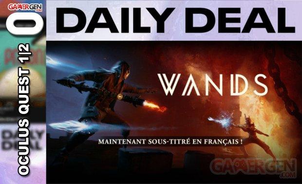 Daily Deal Oculus Quest 2021.04.27   Wands