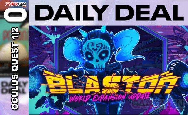 Daily Deal Oculus Quest 2021.05.09   Blaston