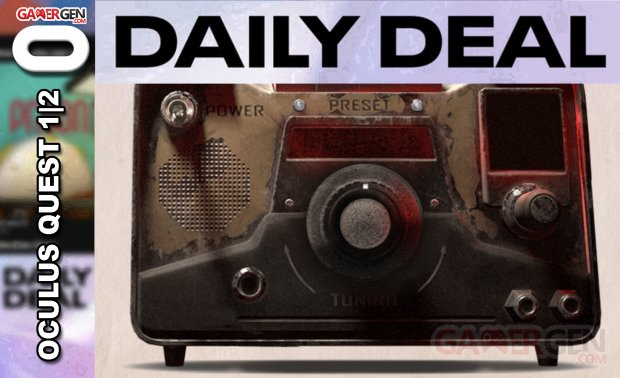Daily Deal Oculus Quest 2021.05.14   The Walking Dead Saints & Sinners