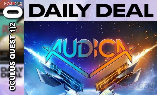 Daily Deal Oculus Quest 2021.05.15   Audica