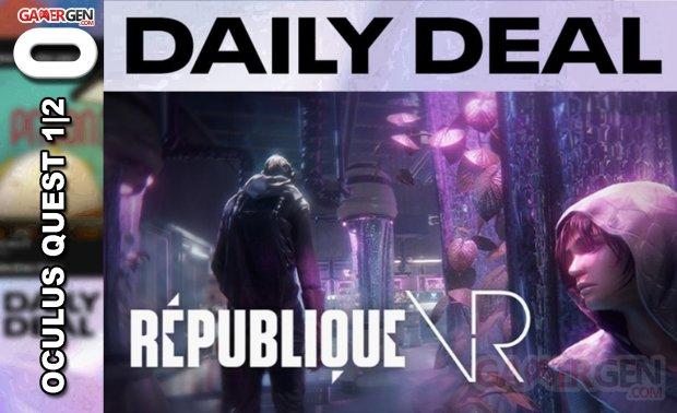 Daily Deal Oculus Quest 2021.05.17   Republique VR