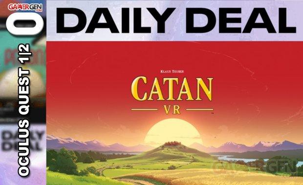 Daily Deal Oculus Quest 2021.05 22   Catan VR