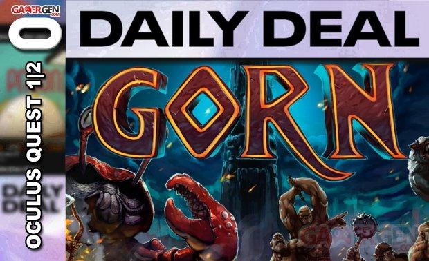 Daily Deal Oculus Quest 2021.05.28   Gorn