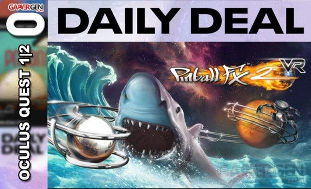 Daily Deal Oculus Quest 2021.06.01   Pinball FX 2 VR