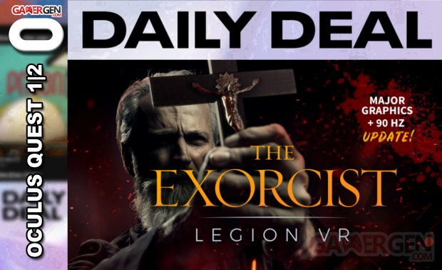 Daily Deal Oculus Quest 2021.06.02   The Exorcist Legion VR