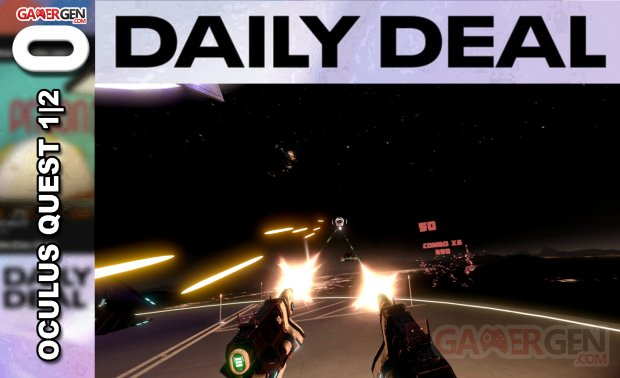 Daily Deal Oculus Quest 2021.06.12   Space Pirate Trainer