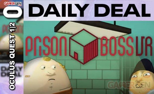 Daily Deal Oculus Quest 2021.06.16   Prison Boss VR