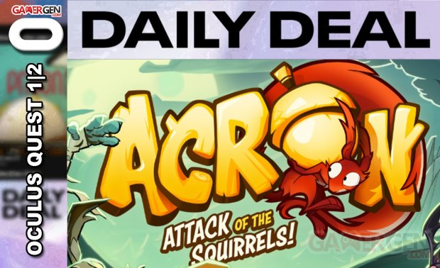 Daily Deal Oculus Quest 2021.06.17   Acron Attack of the Squirrels!