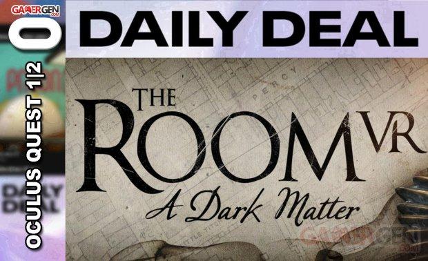 Daily Deal Oculus Quest 2021.06.24   The Room VR A Dark Matter