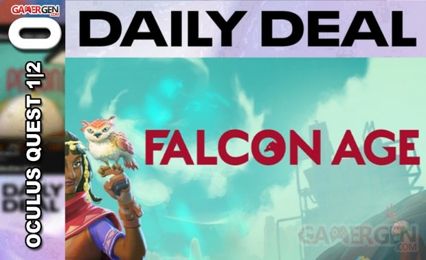 Daily Deal Oculus Quest 2021.07.06   Falcon Age