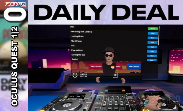Daily Deal Oculus Quest 2021.07.16   Tribe XR DJ in VR