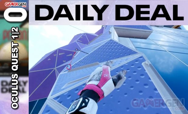 Daily Deal Oculus Quest 2021.07.30   The Climb 2