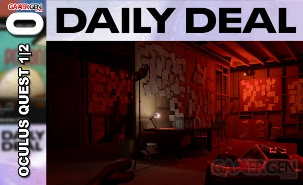Daily Deal Oculus Quest 2021.07.31   Wraith The Oblivion   Afterlife