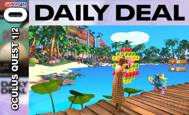 Daily Deal Oculus Quest 2021.08.02   Puzzle Bobble VR Vacation Odyssey