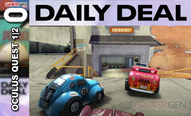 Daily Deal Oculus Quest 2021.08.05   Mini Motor Racing X