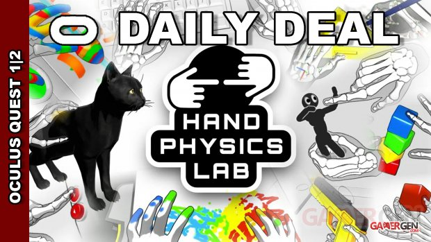Daily Deal Oculus Quest 2021.09.04    Hand Physics Lab
