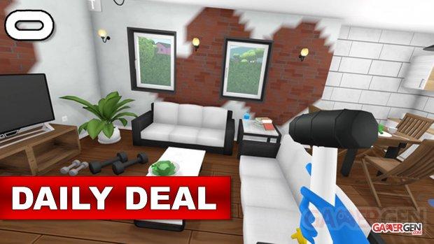 Daily Deal Oculus Quest 2021.09.08   House Flipper VR