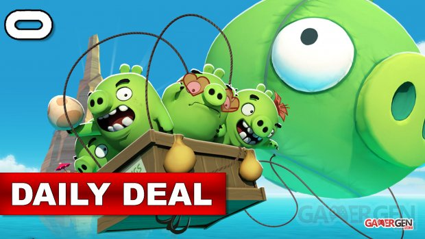 Daily Deal Oculus Quest 2021.09.09   Angry Birds VR Isle of Pigs