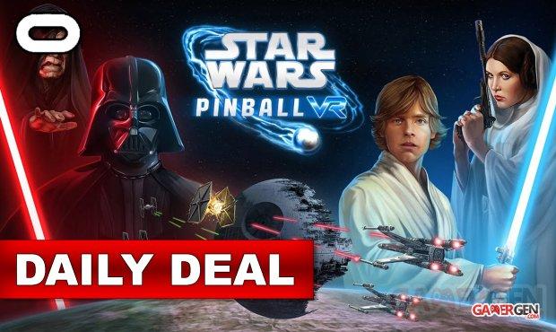 Daily Deal Oculus Quest 2021.09.12   Star Wars Pinball VR