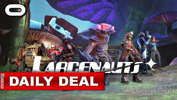 Daily Deal Oculus Quest 2021.09.18   Larcenauts