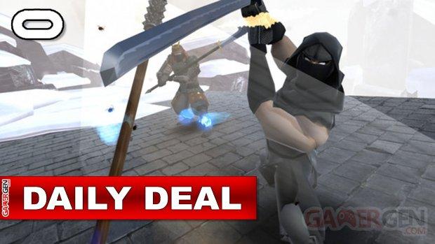 Daily Deal Oculus Quest 2021.09.21   Ninja Legends