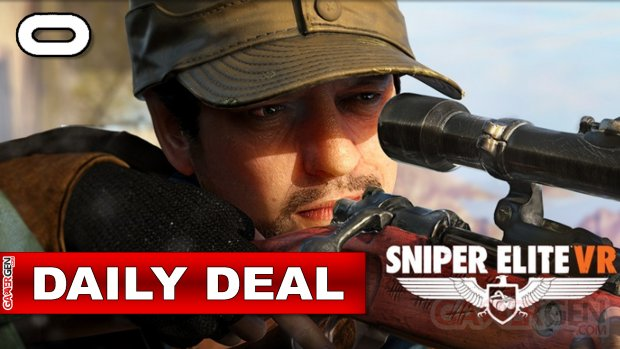 Daily Deal Oculus Quest 2021.10.13   Sniper Elite VR