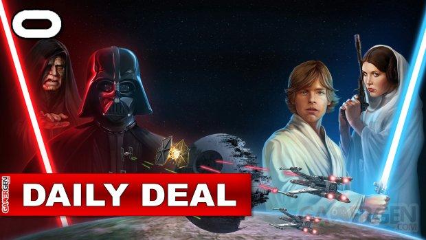 Daily Deal Oculus Quest 2021.10.14   StarWars Pinball VR