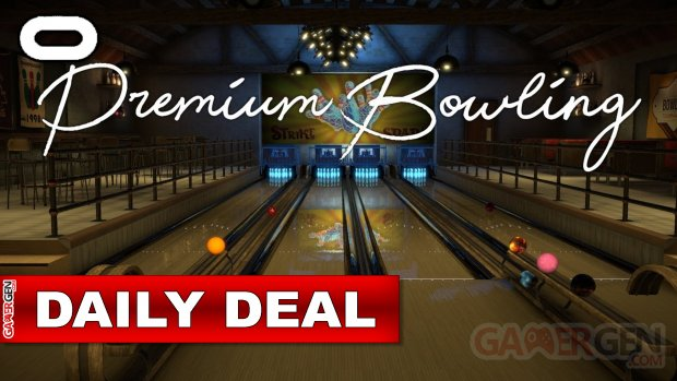 Oculus Quest 1 & 2 Daily Deal – Today's special offer makes us a bowler!  (October 21, 2021)