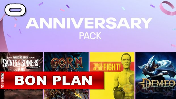 Daily Deal Oculus Quest 2021.19.14   Quest 2 Anniversary pack