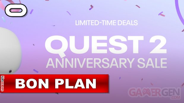 Daily Deal Oculus Quest 2021.19.14   Quest 2 Anniversary Sale