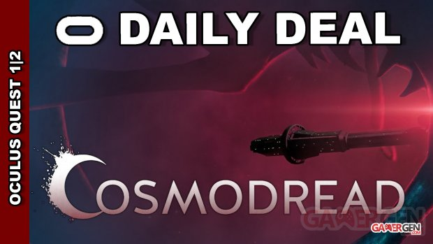 Daily Deal Oxculus Quest 2021.08.31   Cosmodread