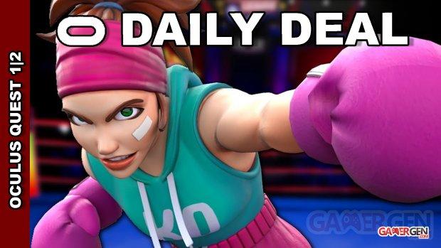 Daily Deal Oxculus Quest 2021.09.01   Knockout League