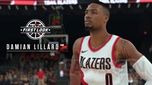 Damian Lillard NBA 2K18 screenshot