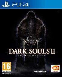 Dark Souls II Scholar of the First Sin jaquette