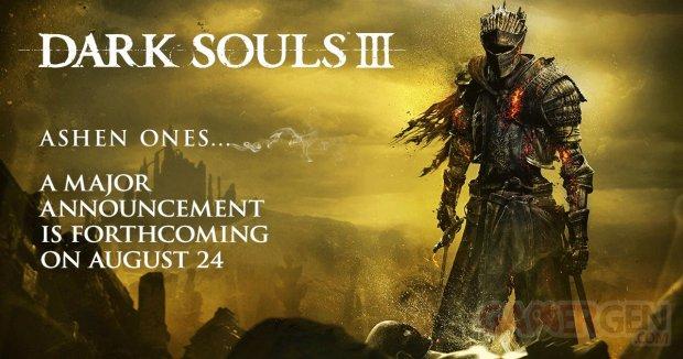 Dark Souls III Teasing Annonce DLC