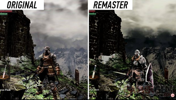 Dark Souls Remastered images comparaisons