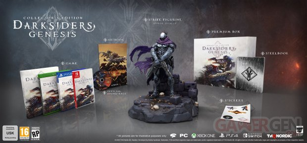 Darksiders Genesis collector 25 07 2019
