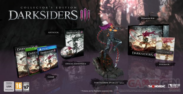 Darksiders III édition collector 09 07 2018
