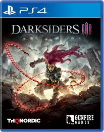 Darksiders III jaquette PS4 09 07 2018