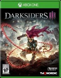 Darksiders III jaquette Xbox One 09 07 2018