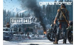 Days Gone couverture Game Informer 08 05 2018