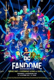 DC FanDome 2021 poster affiche