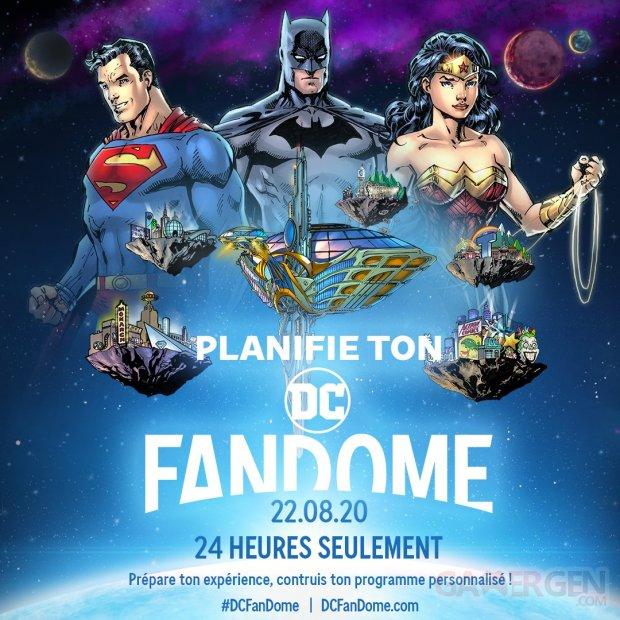 DC FanDome programme