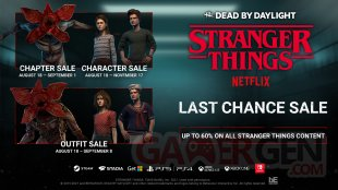 Dead by Daylight Stranger Things Boutique Retrait Soldes