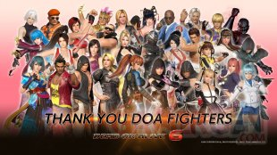 Dead or Alive 6 Thanks