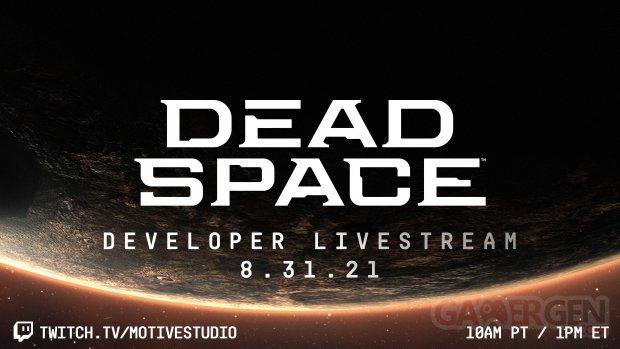 Dead Space developer livestream head