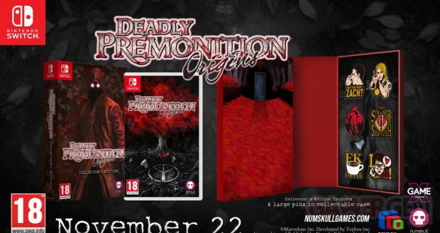 Deadly Premonition Collector's Edition Release Date Trailer
