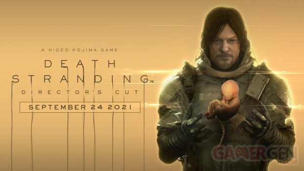 Death Stranding Director's Cut key art date sortie wallpaper fond d'écran