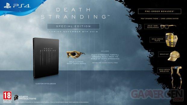 Death Stranding édition spéciale 29 05 2019