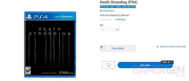 Death Stranding Walmart Canada OKLM